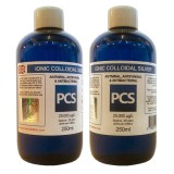 2 x Premium Colloidal Silver 25ppm - 250ml [2 For 1 Deal]