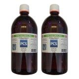 2 x Premium Colloidal Zinc 25ppm - 1 Litre [2 For 1 Deal]