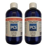 2 x Premium Colloidal Copper 25ppm - 250ml [2 For 1 Deal]