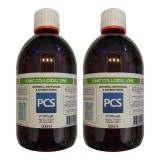 2 x Premium Colloidal Zinc 25ppm - 500ml [2 For 1 Deal]