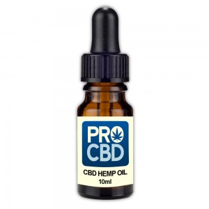 Pro CBD 'Extra-Strength' Hemp Oil - 10ml (Contains 2000mg of 25% CBD Extract)